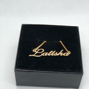 Jewelry - 14K Gold Plated Necklace - Latisha